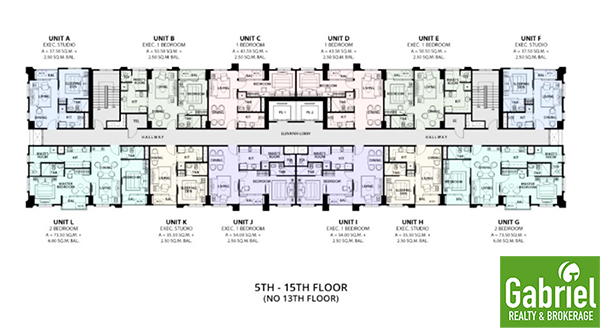 floor plan of la victoria global residences