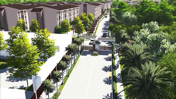 site development plan of bria mactan flats