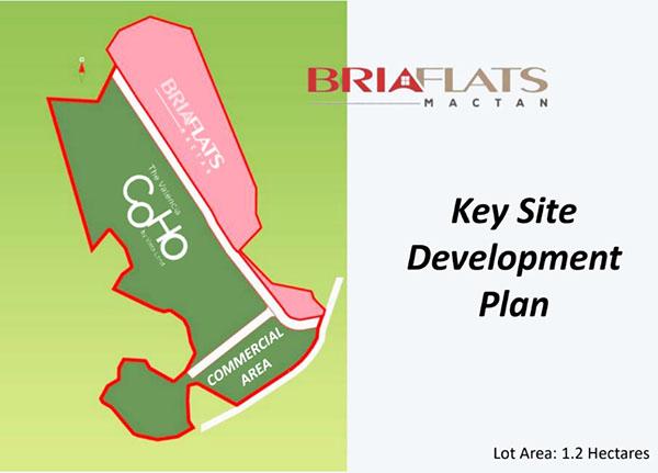 bria flats mactan site development plan