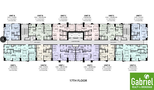floor plan of la victoria condo cebu