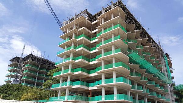 construction update of tambuli mactan
