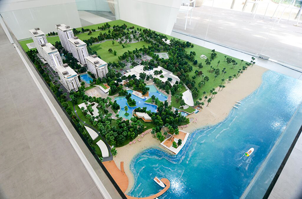 site development plan of tambuli seaside living