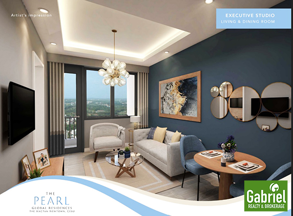 executive studio with balcony in the pearl global residences