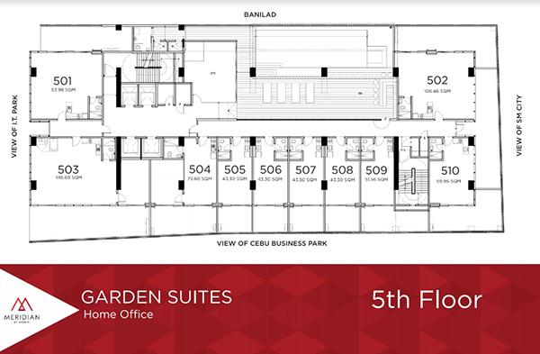 garden suites home office in avenir cebu