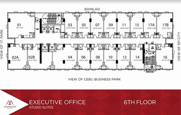 executive office in meridian cebu condominium