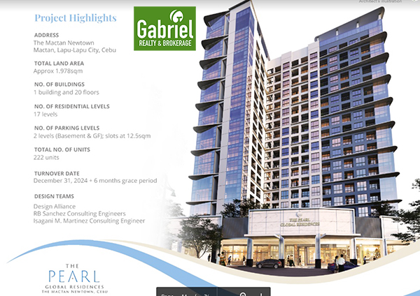 the pearl global residences in mactan newtown