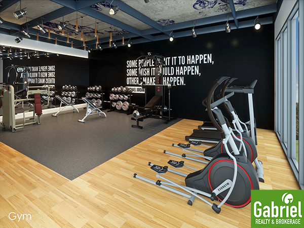 fitness gym of la victoria residences