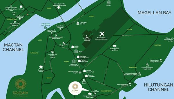soltana nature residences vicinity map