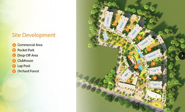 site development plan of soltana nature residences