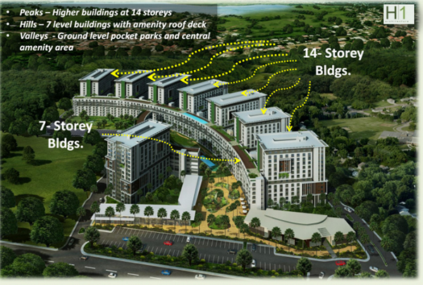 master plan of soltana nature residences tower 2