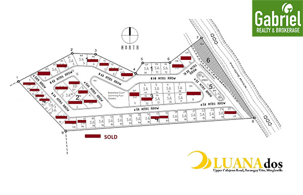 site development plan of luana dos minglanilla