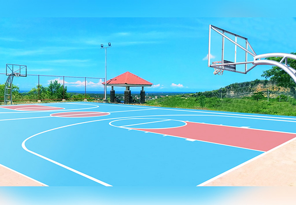 basketball court in aspen heights consolacion