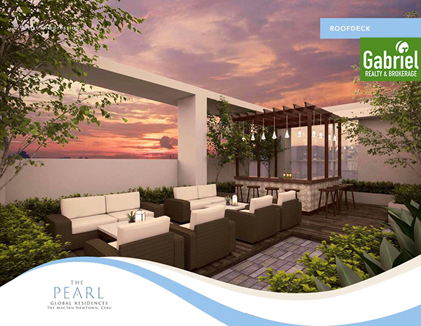 roofdeck of the pearl global residences