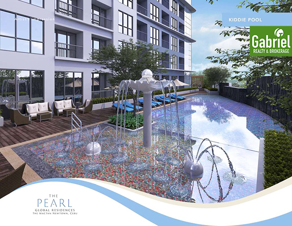 kiddie pool of the pearl global residences