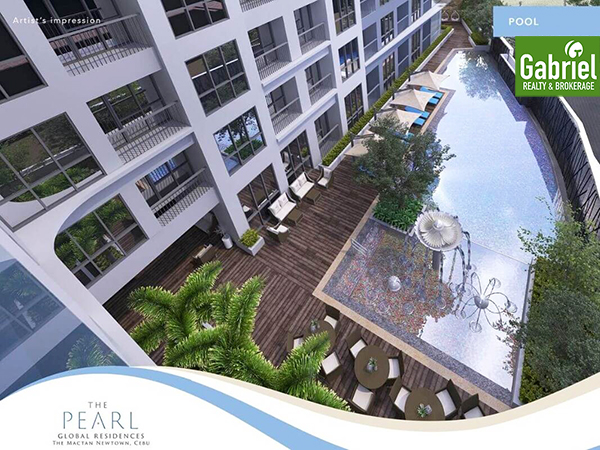 swimming pool of the pearl global residences