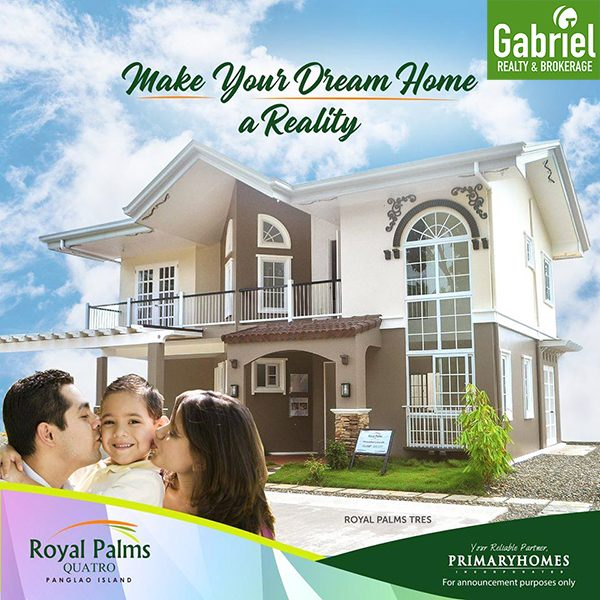 royal palms quatro single detached houses for sale in panglao, bohol
