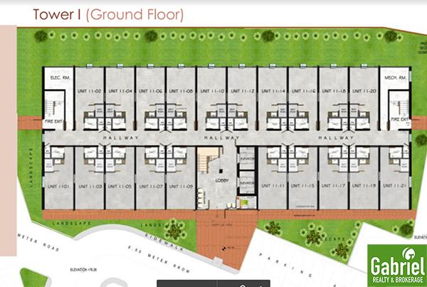 building floor plan of uniplace cebu