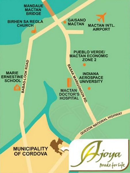 location of ajoya cebu