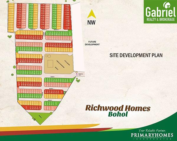 master development plan of richwood homes bohol