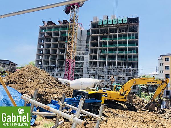 construction update of uniplace cebu