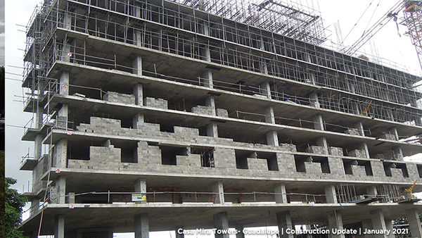 casa mira towers guadalupe construction update