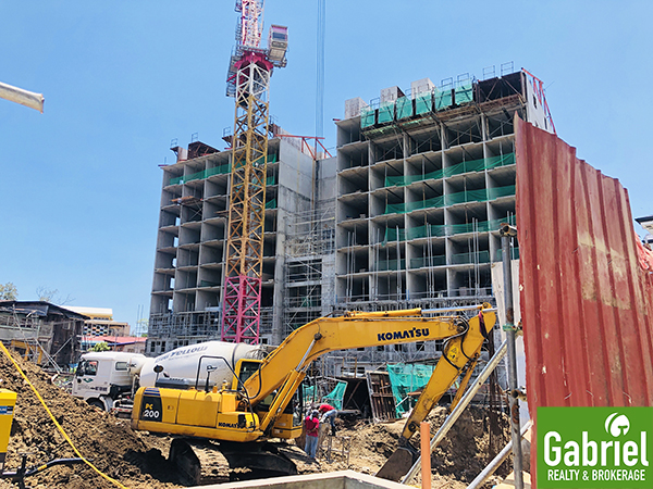 update on the construction of uniplace cebu