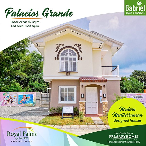 Palacios Grande single detached house for sale in bohol