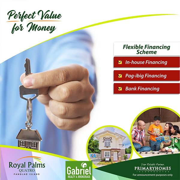 royal palms bohol offers flexible financing scheme