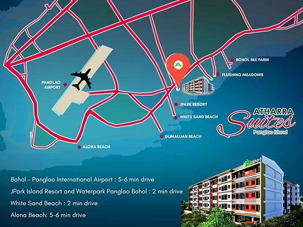 athrra suites panglao location