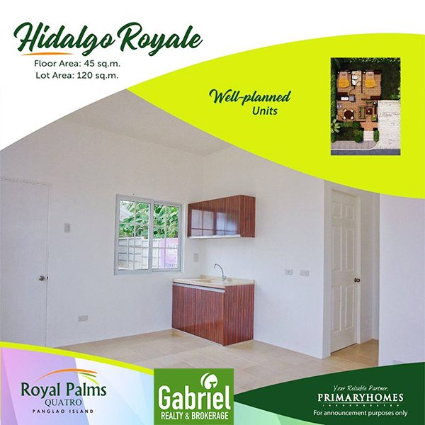 hidalgo royale floor plan