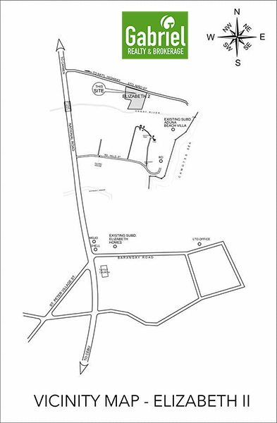 vicinity map of elizabeth homes danao 2
