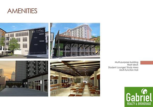 amenities in uniplace cebu