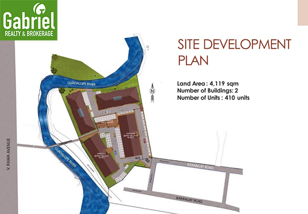 site development plan of UniPlace Cebu