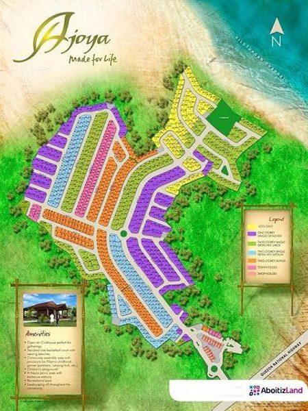 site development plan of ajoya mactan