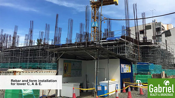 construction update of city clou cebu