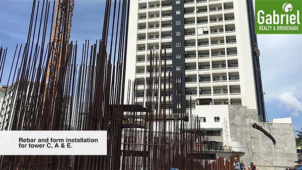 construction update of city clou cebu
