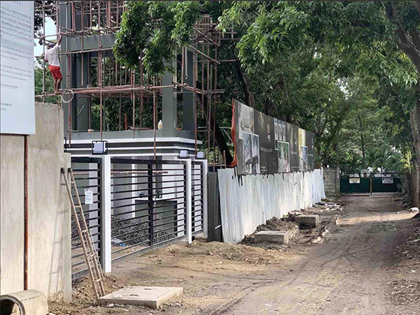 construction update of 138 east overlook cebu city
