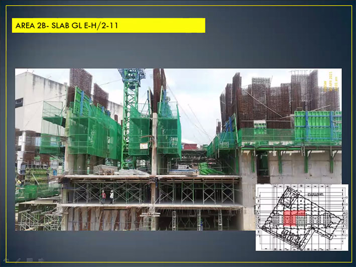 J TOWERS residences construction update