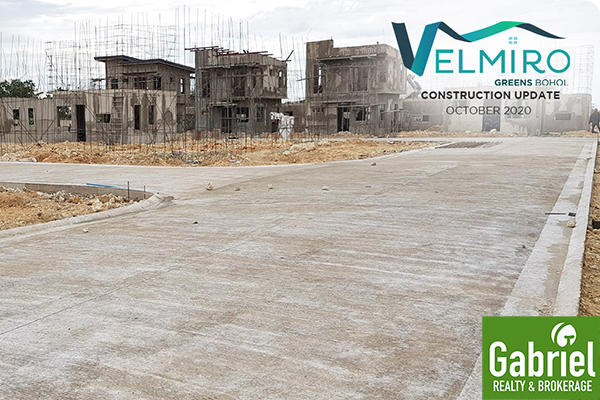 velmiro greens panglao construction update