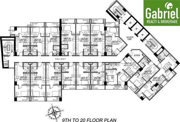 building floor plan of le mende residences