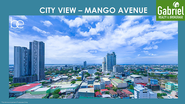 city view in be residences uptown
