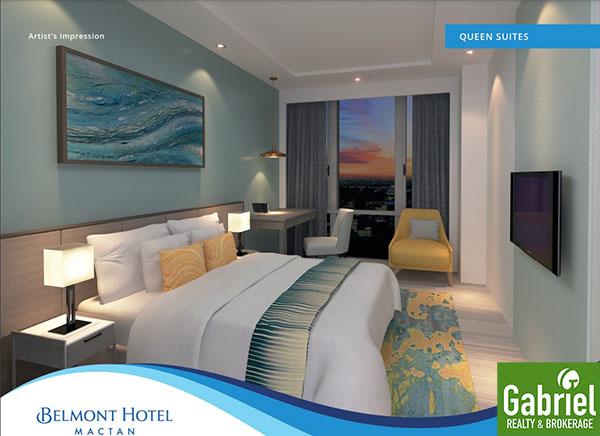 queen suites floor lay out