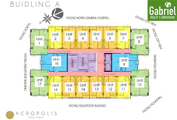 floor plan of acropolis residences