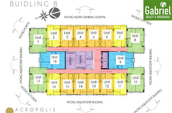 building B floor plan