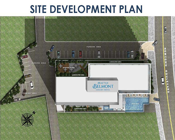site development plan of belmont hotel mactan