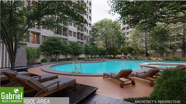 swimming pool in acropolis residences cebu