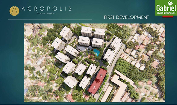 site development plan of acropolis residences cebu