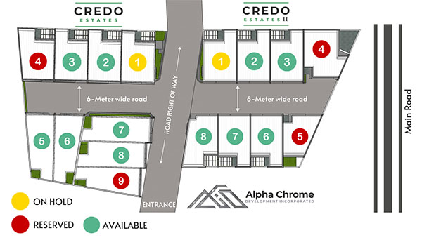 project master plan of credo estates mactan
