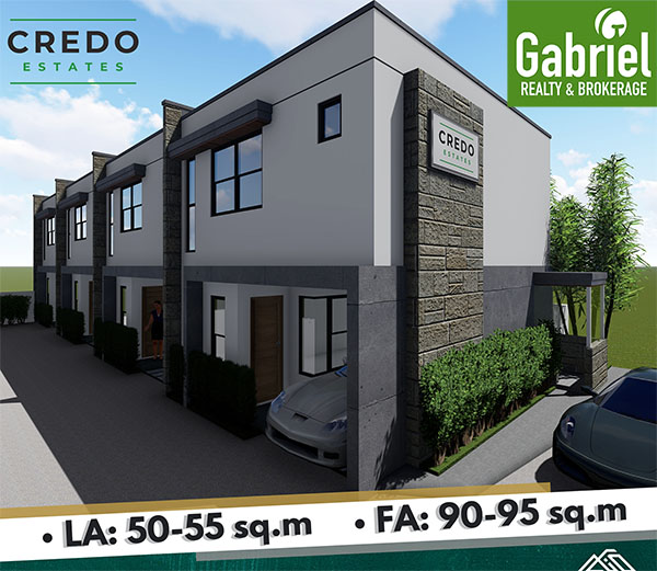 townhouses for sale in credo estates subdivision