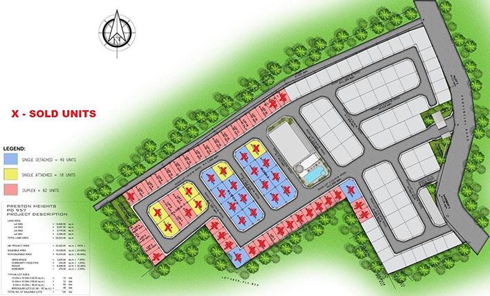 preston by vanderbuilt subdivision